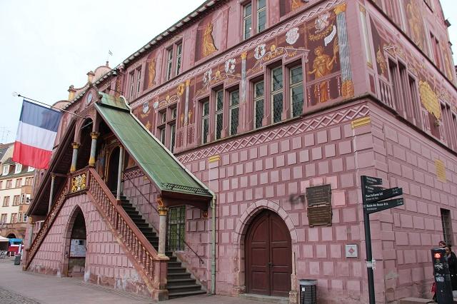 La ville de Mulhouse n'a été rattachée à la France qu'en 1798. (ph. ydp)