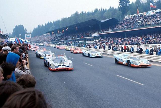 Gros succès aussi à l'époque pour les 1.000 Km de Spa.